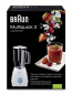 Mobile Preview: Braun MX 2000 Standmixer PowerBlend weiß/blau