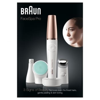 Braun FaceSpa Pro 913 Epilierer 3-in1-System