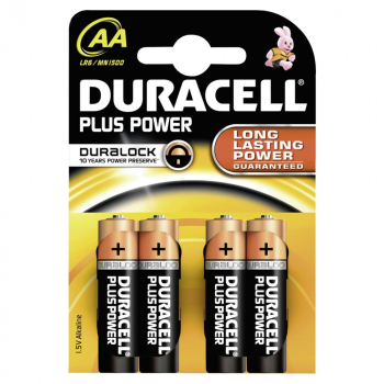 Duracell Plus Power AA Batterien 1,5 Volt