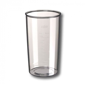 Mix / Messbecher 600 ml transparent für Braun Handmixer Typ 4644-4645, 67050132