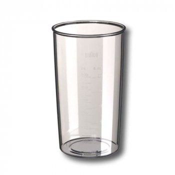 Mix / Messbecher 600 ml transparent für Braun Stabmixer Typ 4130, 67050132
