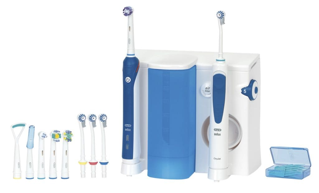 oral b handst ck mit schlauch f r mundpflege center professional care 1000 3000 typ 3724. Black Bedroom Furniture Sets. Home Design Ideas