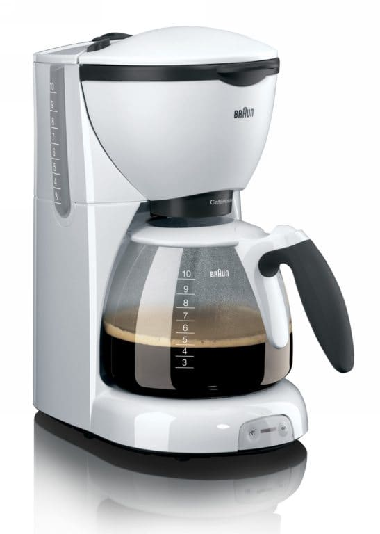 Coffee Maker Made In Usa Or Europe : Braun Service Station - Braun Kaffeemaschine KF 520 Cafe House Pure wei?