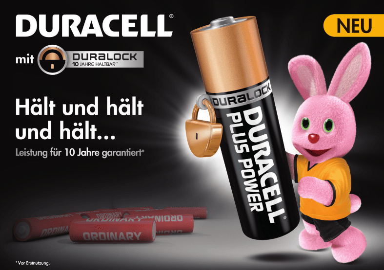 duracell plus power aaa batterien online kaufen. Black Bedroom Furniture Sets. Home Design Ideas