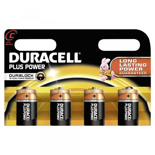 Duracell Plus Power C Batterien