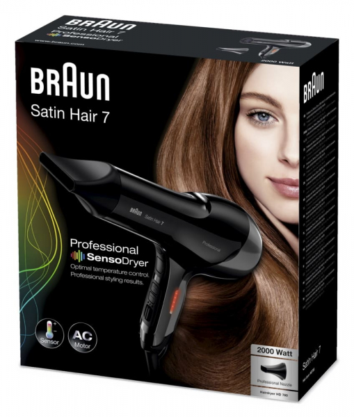 Braun Satin Hair 7 SensoDryer HD 780 Haartrockner