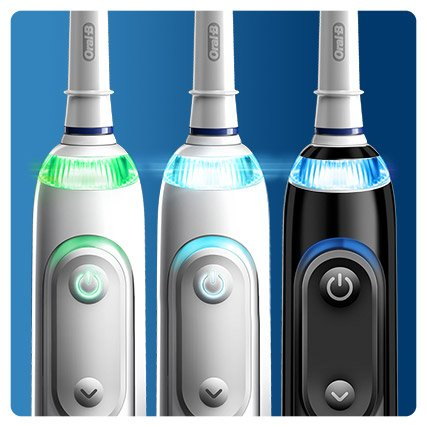 Oral-B GENIUS 10100S - 12-farbiger LED-SmartRing