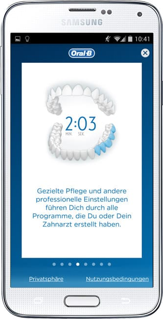 Oral-B TriZone 7000 SmartSeries WHITE mit Bluetooth-Anzeige Oral-B App